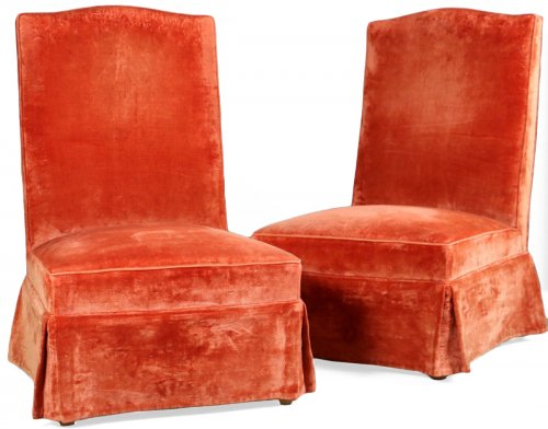 Pair of fireside Attributed to André Arbus (1903-1969)