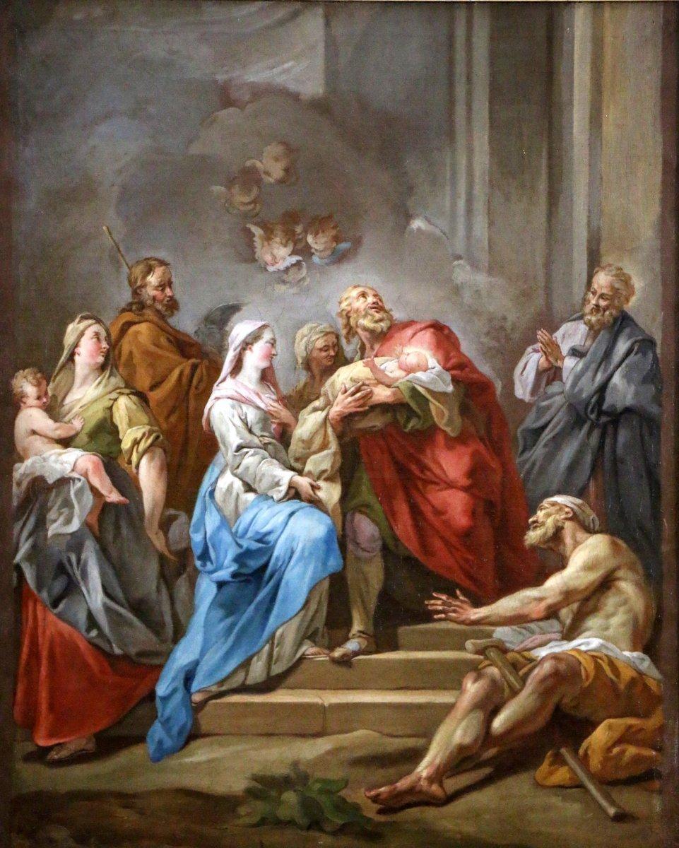 Cole fran aise du xviiie si cle attribu jean restout 1692 1768 - Les plus beaux tableaux abstraits ...