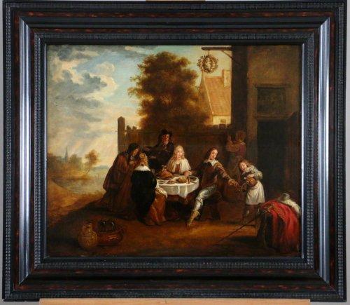 Flemish School of the 17th century , circle of David Teniers (1610-1690)
