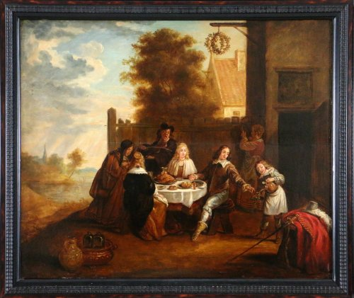 Flemish School of the 17th century , circle of David Teniers (1610-1690) - Paintings & Drawings Style Louis XIV