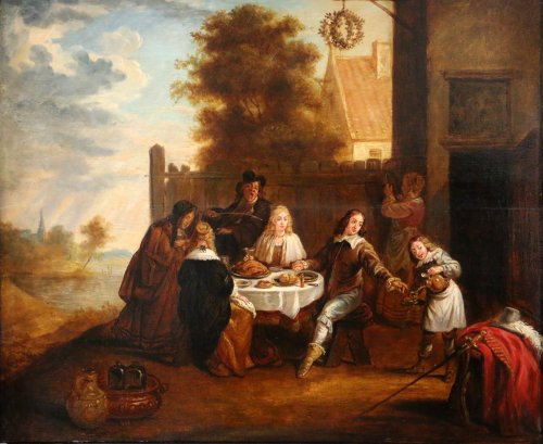 Paintings & Drawings  - Flemish School of the 17th century , circle of David Teniers (1610-1690)