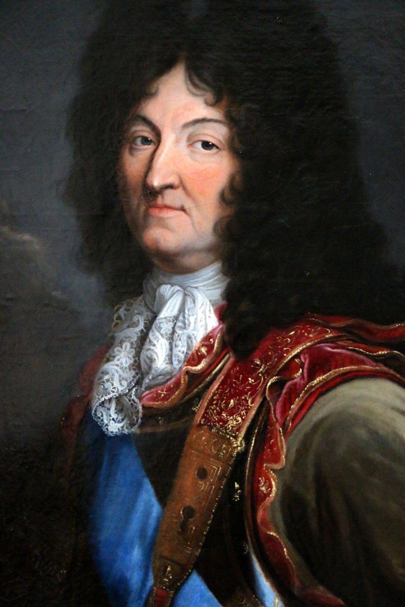 97c16410f6b Workshop Hyacinthe Rigaud 1659-1743 - Portrait of Louis XIV - Ref.54861