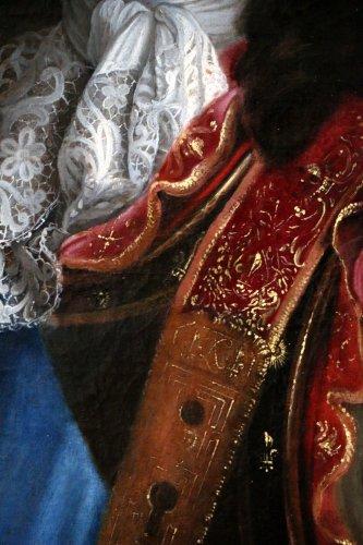 Workshop Hyacinthe Rigaud 1659-1743 - Portrait of Louis XIV - Louis XIV