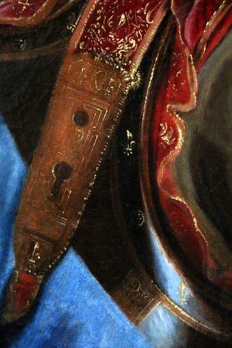 Louis XIV - Workshop Hyacinthe Rigaud 1659-1743 - Portrait of Louis XIV