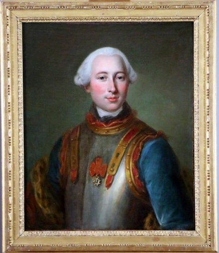 French School of the eighteenth century under Louis XVI . Portrait