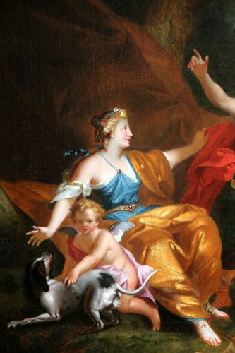 18th century -  Workshop of Pierre-Jacques Cazes (1676-1754) Venus & Adonis