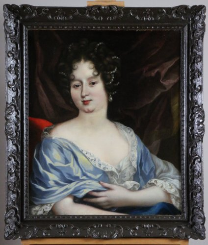 French School of the seventeenth  circa 1680-Presumed Portrait of Anne Mari