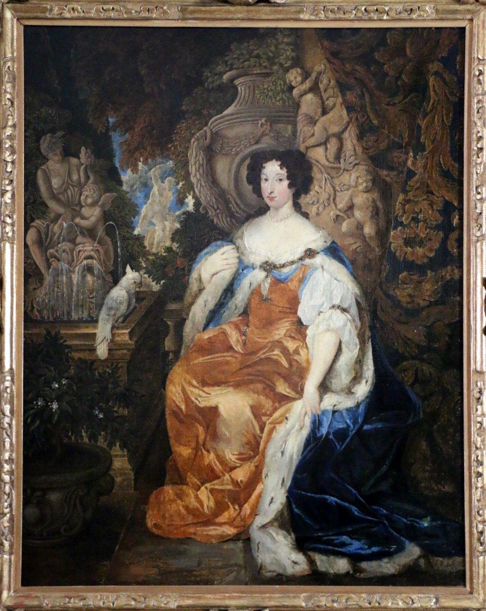 Portrait of Queen Mary II of England (1662-1694).