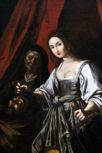 Italian School of the XVIIth century - School of Caravaggio -