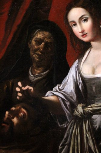Italian School of the XVIIth century - School of Caravaggio - Louis XIII