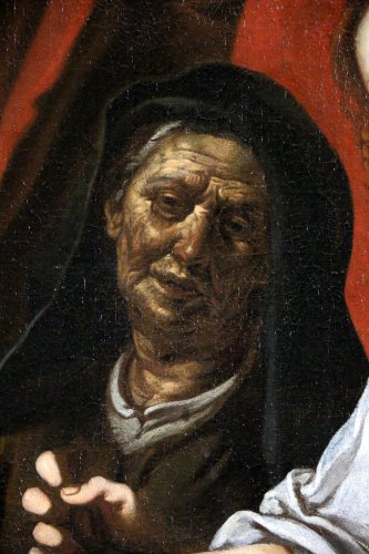 Antiquités - Italian School of the XVIIth century - School of Caravaggio