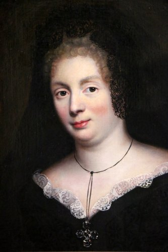 Paintings & Drawings  - Madame De Maintenon around 1670, Pierre Mignard workshop