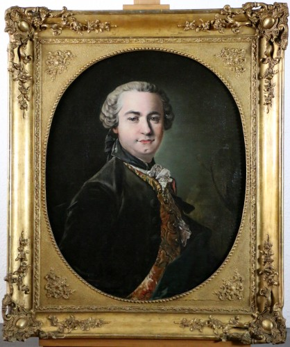 Portrait of Victor Riquetti of Mirabeau by the workshop of Louis Tocqué (1696-1772)