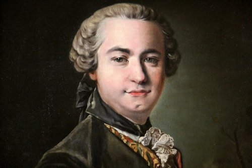 Portrait of Victor Riquetti of Mirabeau by the workshop of Louis Tocqué (1696-1772) -