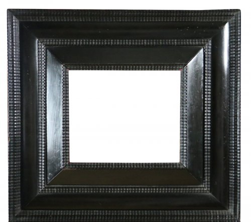 Blackened wooden frame of the 17th century, Netherlands