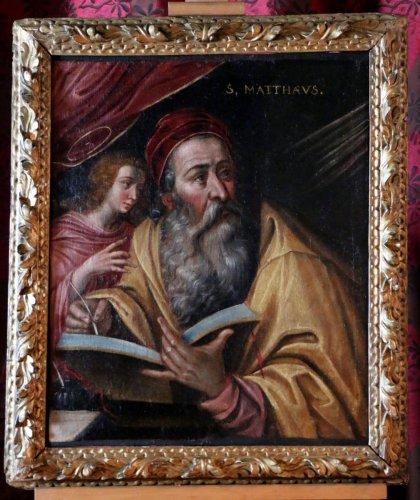 Antiquités - Venetian School around 1600 - Saint Mathieu