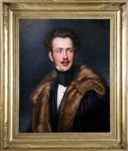 Portrait of Auguste Charles Eugène Napoléon de Beauharnais - Joseph Bernhardt (1805-1885)