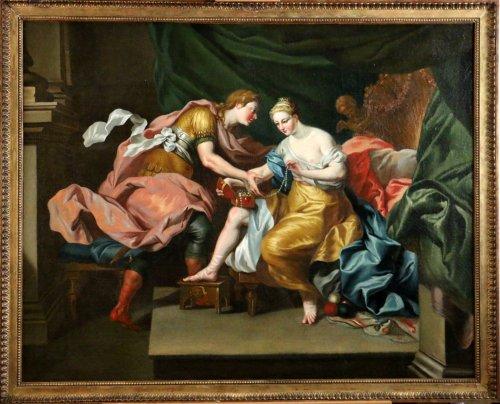 Italian School of the 17th Century - Mythological Venus and Mars