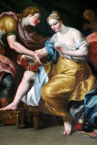 Italian School of the 17th Century - Mythological Venus and Mars -