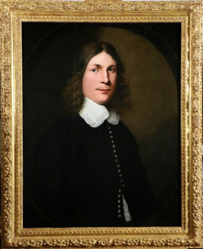 Portrait of a young man - Dutch School of the XVIIth century dated 1648