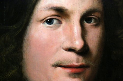 17th century - Portrait of a young man - Dutch School of the XVIIth century dated 1648