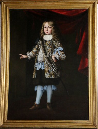 Portrait of a young Prince attributed to Justus Sustermans and workshop