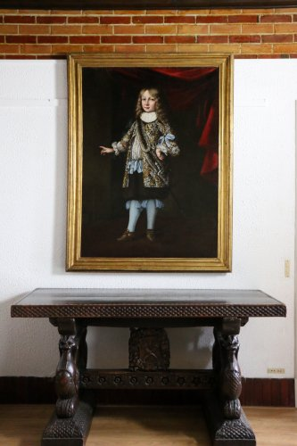 Portrait of Charles XI of sweden attributed to Justus Sustermans  - Paintings & Drawings Style Louis XIV