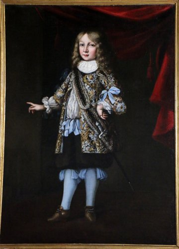 Paintings & Drawings  - Portrait of Charles XI of sweden attributed to Justus Sustermans