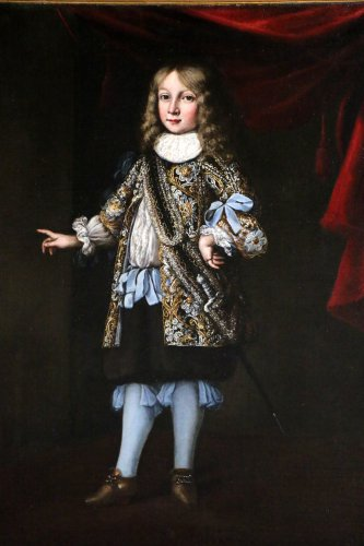 Portrait of Charles XI of sweden attributed to Justus Sustermans  -
