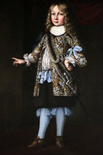 17th century - Portrait of Charles XI of sweden attributed to Justus Sustermans