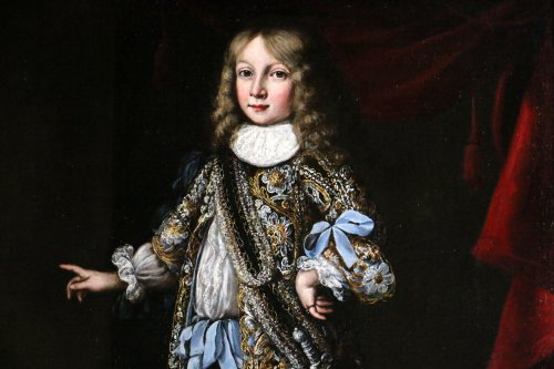 Portrait of Charles XI of sweden attributed to Justus Sustermans  - Louis XIV