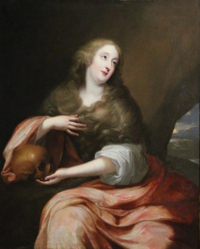 Presumed portrait of Louise d'Aubéry - Flemish School circa 1630-1640