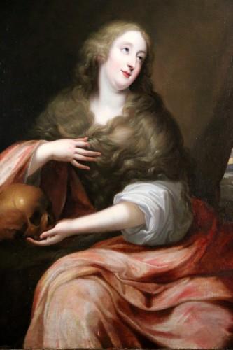 Paintings & Drawings  - Presumed portrait of Louise d'Aubéry - Flemish School circa 1630-1640