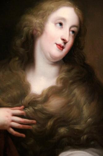 Presumed portrait of Louise d'Aubéry - Flemish School circa 1630-1640 -