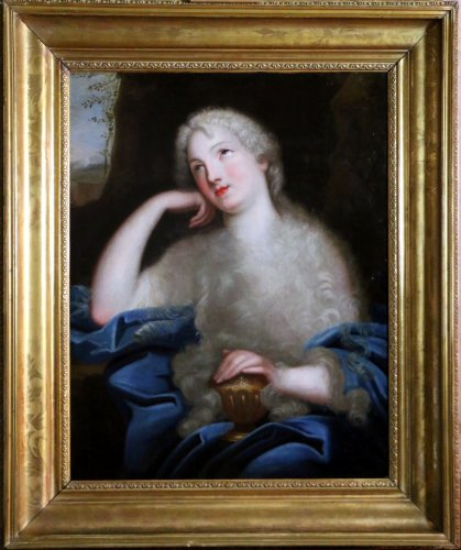 Madame de Ludres - 17th century French school-Pierre Mignard's circle (1612-1695)