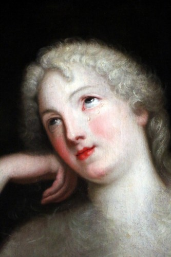Madame de Ludres - 17th century French school-Pierre Mignard's circle (1612-1695) -