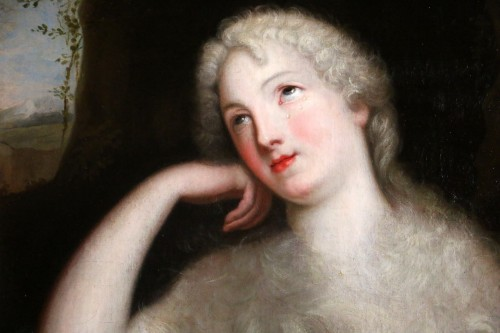 17th century - Madame de Ludres - 17th century French school-Pierre Mignard's circle (1612-1695)