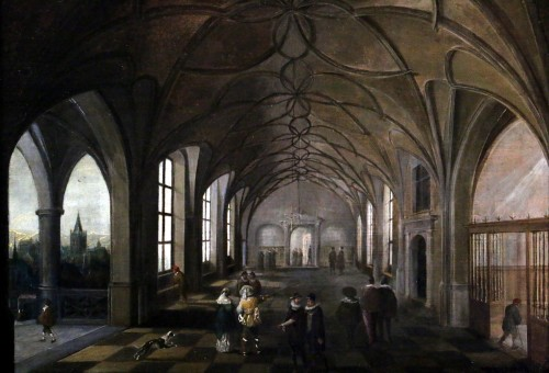 Paintings & Drawings  - Hendrik van Steenwijk I (1550-1603) - Royal Palace of Prague