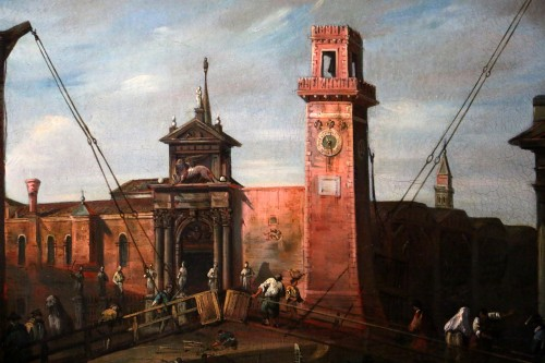 Paintings & Drawings  - Venice-l'Arsenal - Italian School of the second half of the 18th century