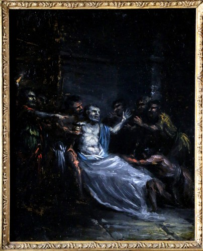 The Death of Pison - French School Attributed to Pierre Paul Prudhon (1758-1823)