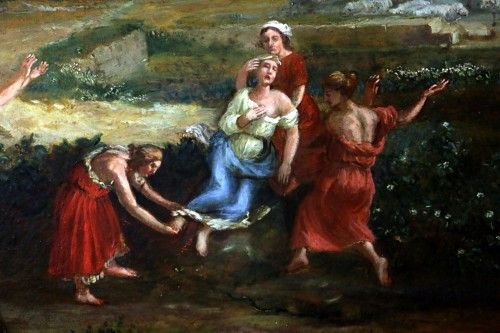 17th century - 17th century French school - The death of Eurydice attributed to Allegrain