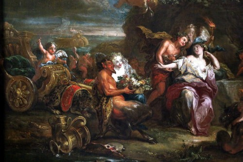 Bacchus and Ariane on the island of Naxos -attributed to Charles Antoine Coypel's Studio -