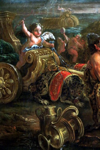 Louis XIV - Bacchus and Ariane on the island of Naxos -attributed to Charles Antoine Coypel's Studio
