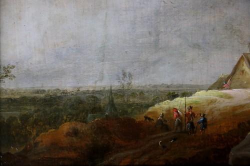 17th century - Animated landscape - Dutch School of the 17th century