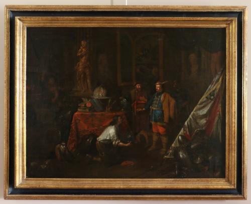 Flemish School circa 1700 - Attributed van den Bossche (Antwerpen, 1681-1715)