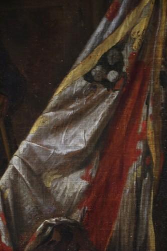 Louis XIV - Flemish School circa 1700 - Attributed van den Bossche (Antwerpen, 1681-1715)