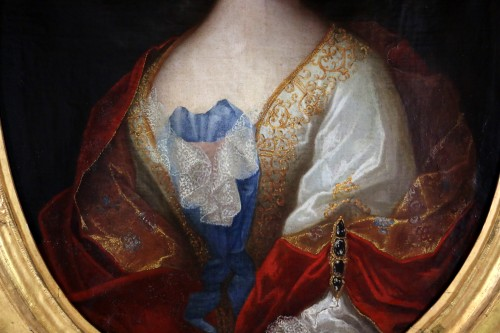 Paintings & Drawings  - Provencal school of the 17th century circa 1680 - Lady of quality