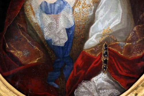 Provencal school of the 17th century circa 1680 - Lady of quality -