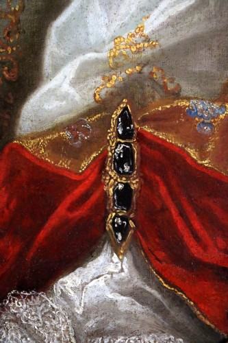 Louis XIV - Provencal school of the 17th century circa 1680 - Lady of quality