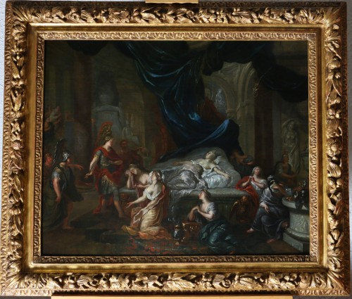 Gérard de Lairesse (1641-1711) and workshop -The Death of Cleopatra